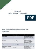 mass transfer summary