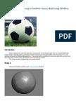 Creating & Texturing A Football - Soccer Ball Using 3DSMax.pdf