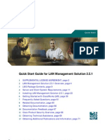 Quick Start Guide for LAN Management Solution 2.5.1