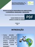 Apresentação - Reuso de Águas Residuárias Na Agricultura