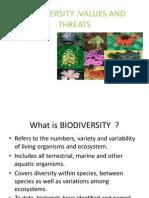 SUNISH Biodiversity Ppt