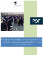 Report on the Protection of Civilians in the  Non International Armed Conflict in Iraq