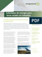 Energia Para Areas Rurales en Colombia