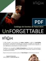 Catálogo de Evento de Natal 2014 da INOX Portugal