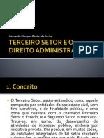 Terceiro Setor - Leonardo Bentes
