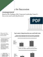 CLC Business Case for Succession Management