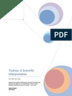 Touhou - A Scientific Interpretation