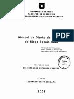 Manual de diseño riego tecnificado.pdf