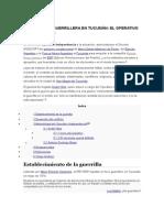 La Lucha Antiguerrillera en Tucumán. El Operativo Independencia