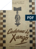 Caderno de Xango