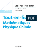 Maths Physique Chimie Resume MPSI