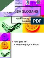 yabanc dil renme ile ilgili sloganlar