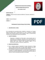 Clínica Penal Fase Teorica Código 8.1