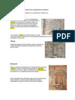 Materiales de Construcción de La Arquitectura Románica