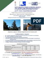 Anuncios Actividades 2013, Curso RILEM AAHES Rosario, 5 8 13