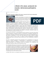 Venezuela La Misión Niño Jesús Protección de La Mujer Embarazada Democracia Participativa Salud en Revolución
