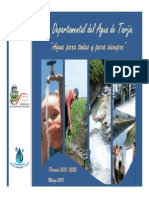 Plan Departamental del Agua de Tarija _ Presentación Gral.pdf