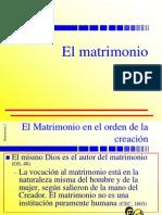 XXXVIII El Matrimonio