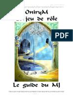 Onirym Livre MJ Paorn
