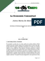 De Mahieu, Jaime Maria - La Economia Comunitaria