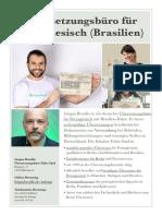 Beeidigter Übersetzer für Portugiesisch