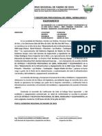 Acta de Entrega y Recepcion Provisional de Obra