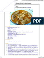 Mutton Curry _ Lamb Curry