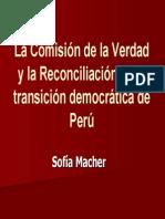 CVR y Transicion Democratica