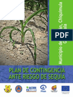 Plan de contingencia ante riesgo de sequía- Municipio de Jocotán, Chiquimula- Guatemala