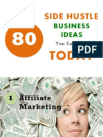 80 Side Hustle Business Ideas You Can Start Today