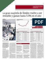 Mayoría de Fondos Mutuos Vuelve a Ser Rentable_Gestión 18-07-2014