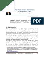 Inscripcion de División y Particion Inmuebles