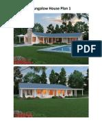Housing Plan (Bungalow)