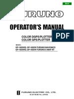 Furuno GP1850W Operator Manual