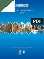 Agenda 21 Summary Publication