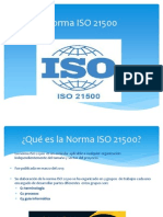 Norma ISO 21500
