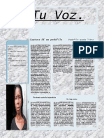 Tu Voz - Marzo 2014
