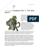 Treantmonk's Druid Handbook Part 1 the Wild Mystic