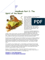 Treantmonk's Druid Handbook Part 2 the Spirit of the Beast