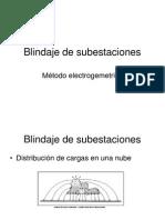 Blindaje de Subestaciones Metodo Electrogeometrico