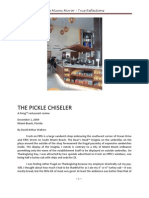 The Pickle Chiseler by David Arthur Walters