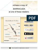 BARRACUDA by CHRISTOS TSIOLKAS-Excerpt