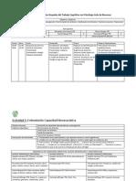 Registro de Actividad Grupal Del Trabajo