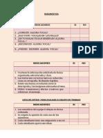 ejemplos  de  listas de cotejo y rbricas