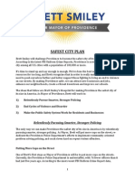 Brett Smiley's Safest City Plan