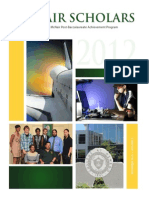 McNair Scholars Research Booklet 2012 Vol. 5