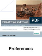 FEMAP Tips and Tricks
