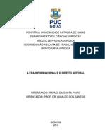 A Era Informacional e o Direito Autoral - Rafael Da Costa Pinto