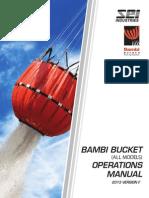 Bambi Bucket Operations Manual