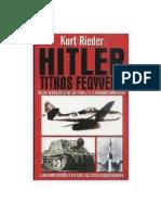96928571 Kurt Rieder Hitler Titkos Fegyverei
